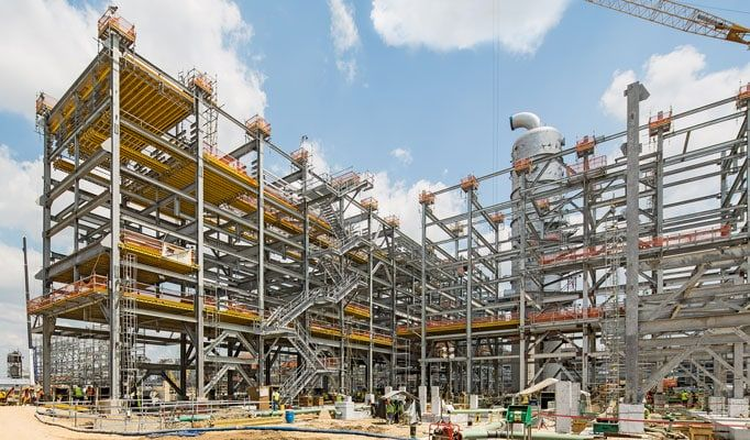 Construction Site, U.S. Gulf Coast Petrochemicals Project, Chevron Phillips Chemical, Baytown, TX